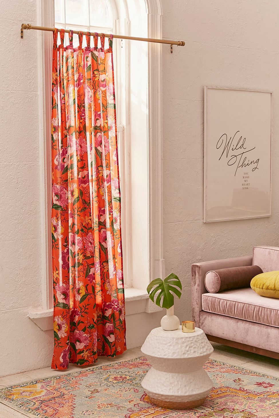Poppy window curtain by urban outfitters products pinterest