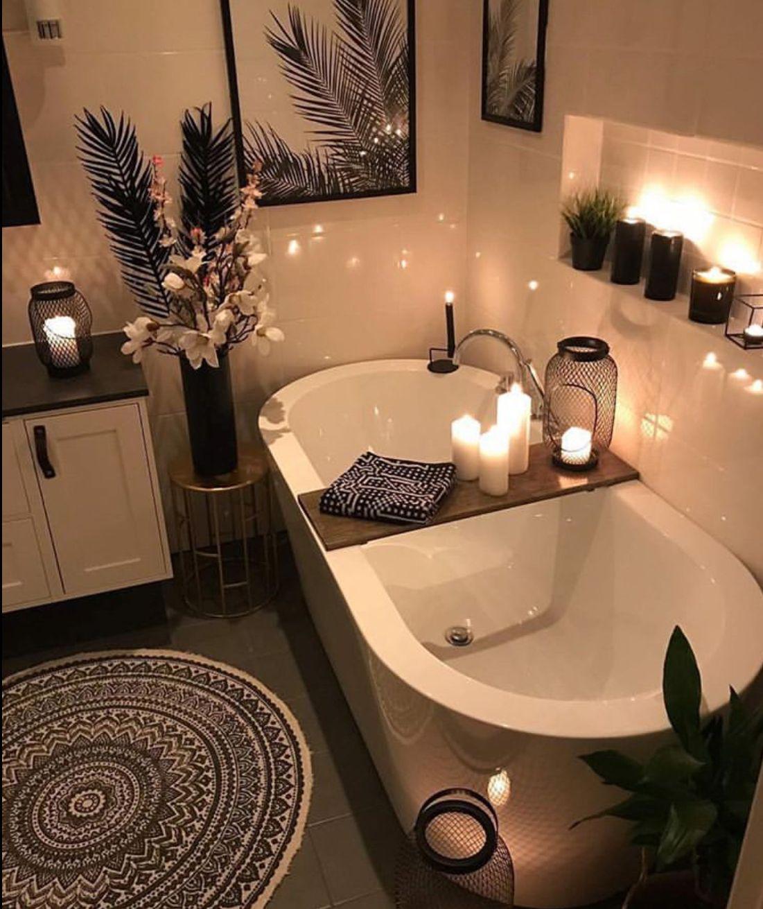 Pin By Jordan Volentir On Dream Home Cozy Bathroom Bathtub