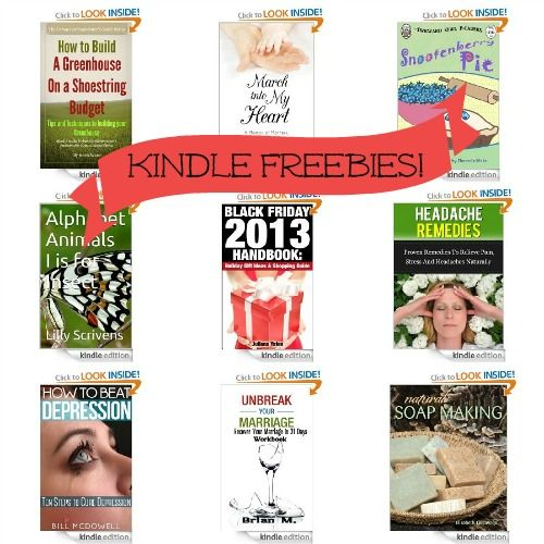 15 Kindle Freebies: How to Build a Greenhouse on a Shoestring Budget, March into My Heart, + More!
