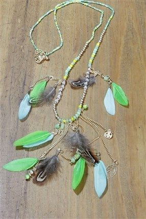 Collar plumas Patuspies