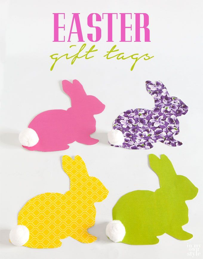 Easter bunny gift tags free printable gift tags for easter easter bunny gift tags free printable gift tags for easter negle Images