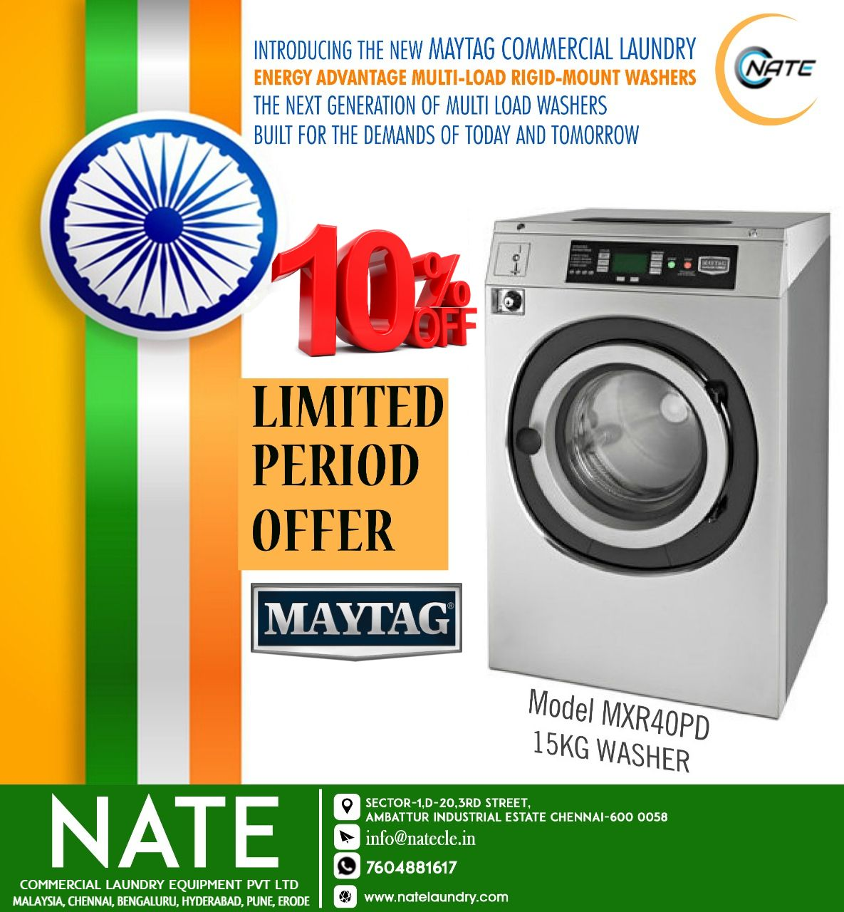 Maytag 15 Kg Washer For Sale Commercial Laundry Laundry
