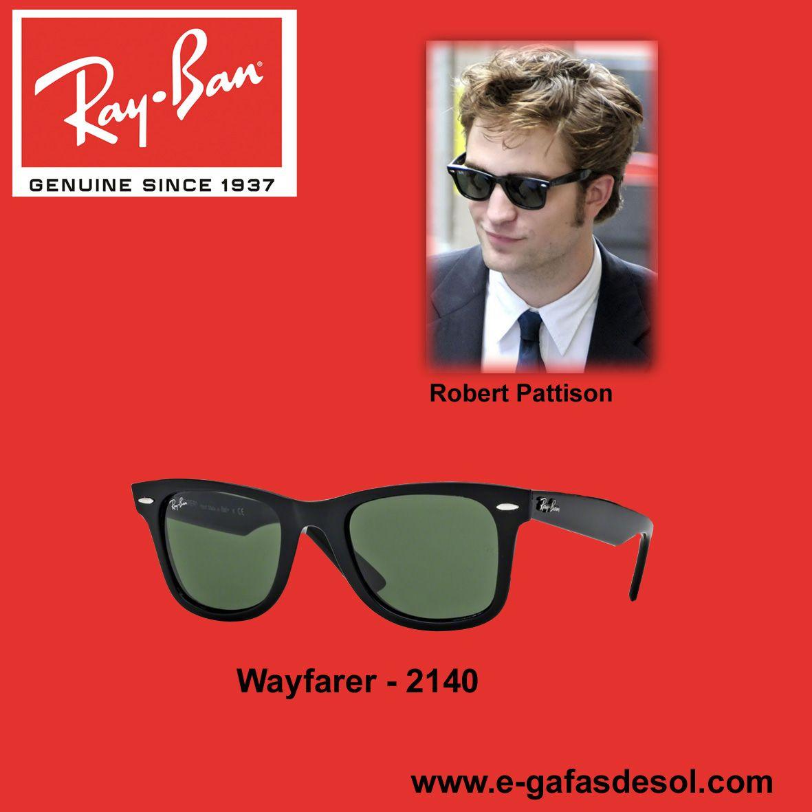 0c7ac002f1 El actor Robert Pattison, conocido por la saga de películas Crepúsculo  llevando unas gafas Ray