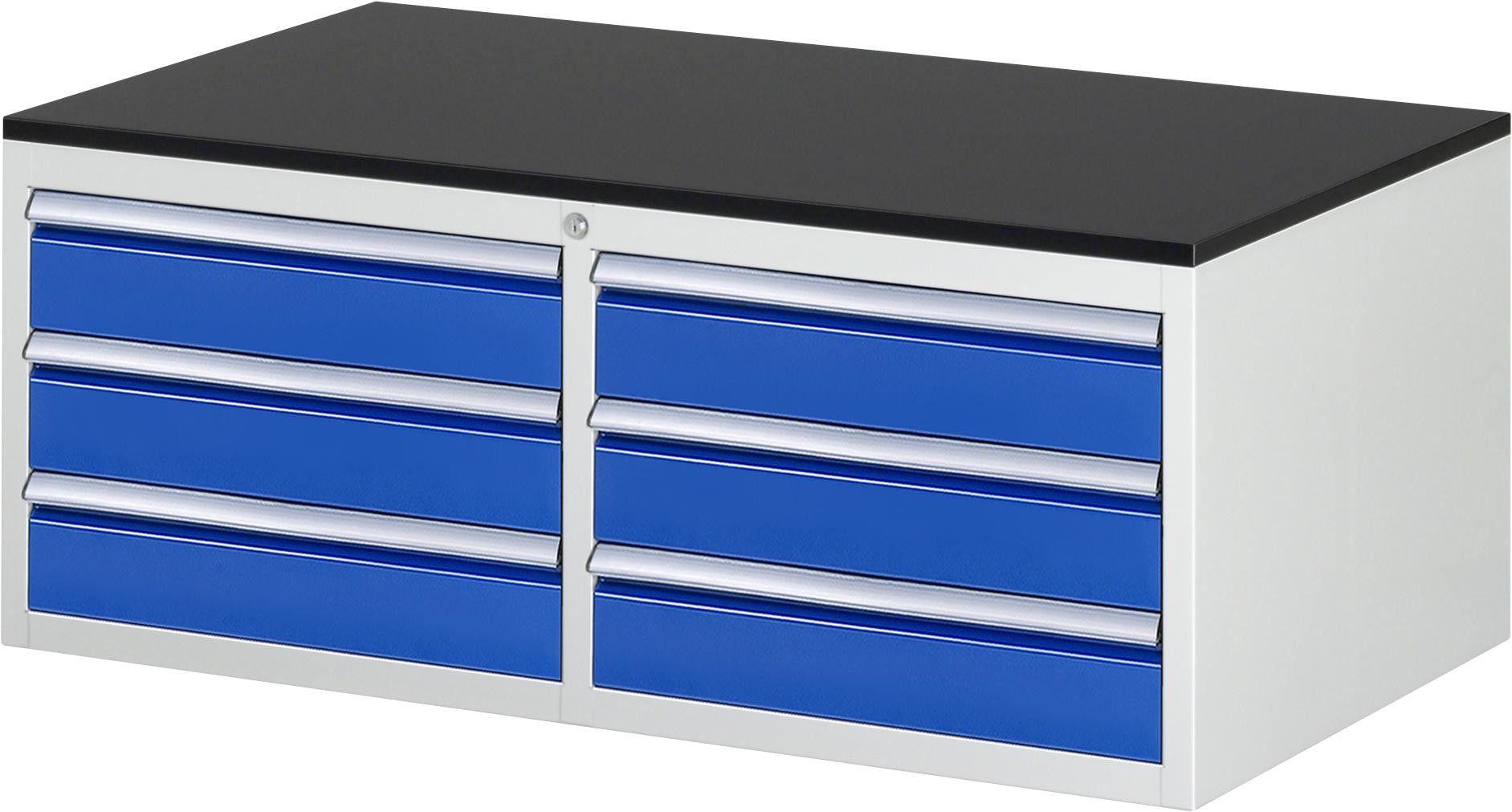 Schubladenschrank Serie 7000 Typ Ll5 20 1145x650x820mm Melamin Top Teilauszug In 2020 Schubladenschrank Schubladen Schubladenauszug