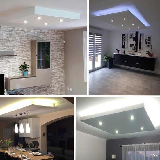 49+ Eclairage indirect plafond cuisine ideas