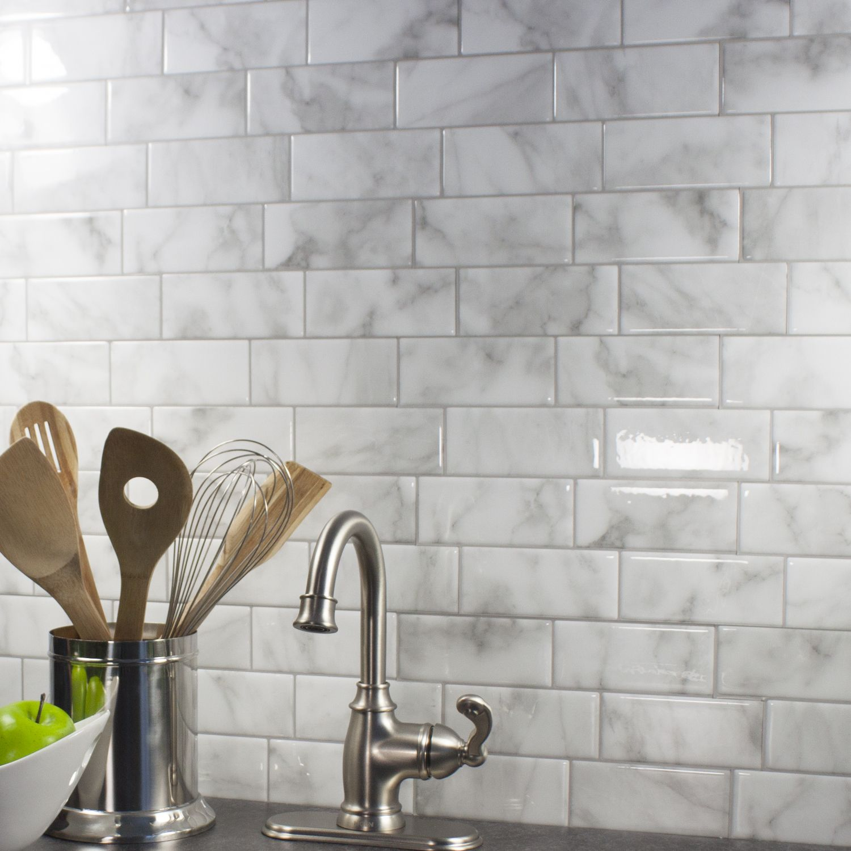 Peel And Stick Kitchen Backsplash Smart Tiles Cheat Meals