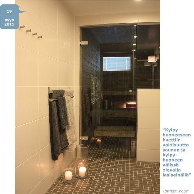 PINOA blog.: Skandinaavinen kylpyhuone