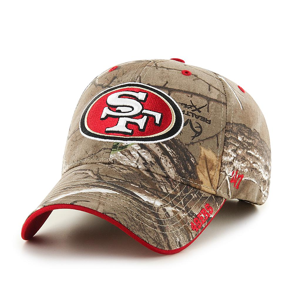 Officially Licensed NFL Realtree Frost MVP Camouflage Cap by  47 Brand -  49ers feb2a4c21