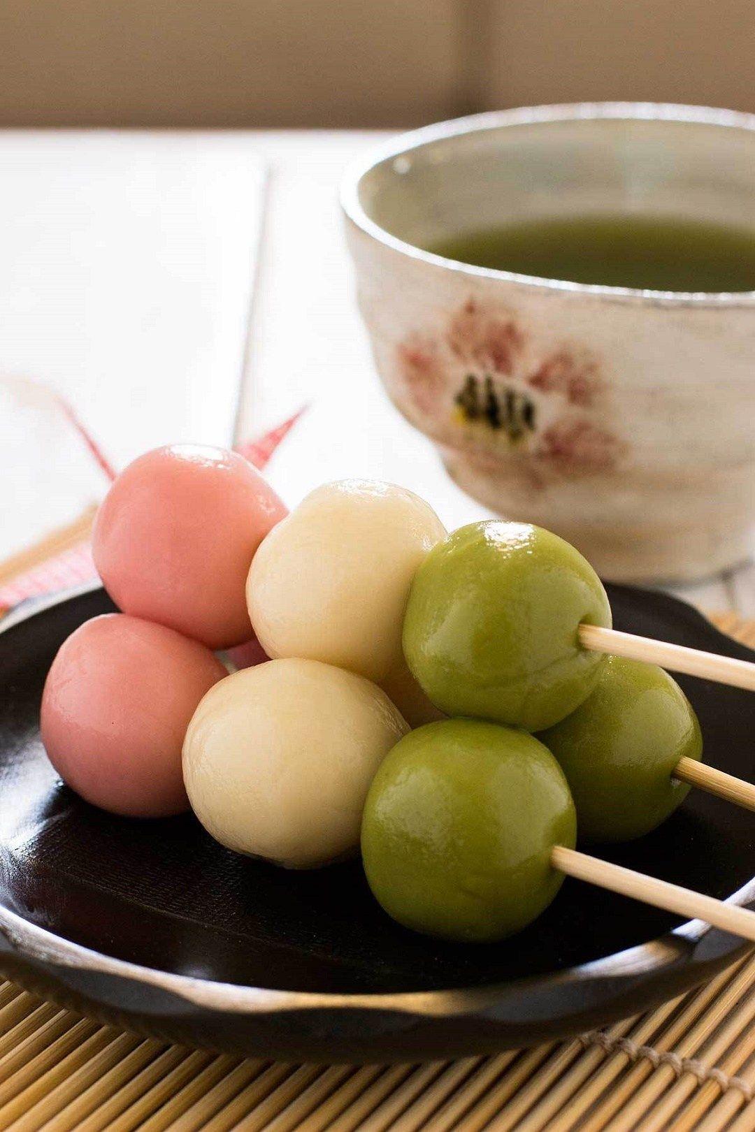 CARA SIMPEL MEMBUAT SANSHOKU DANGO Kuliner Jepang Dango