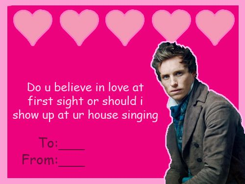 Les Miserables Valentine Marius you creep – Tv Valentines Day Cards