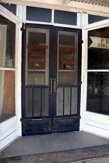 Old Screen Door love the sound of a wooden screen door closing ...