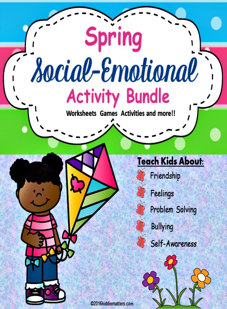 Social Emotional Activity Bundle (March) | Social ...