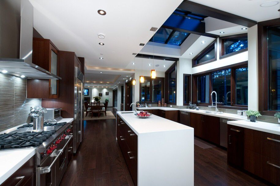 Stunning modern kitchen design