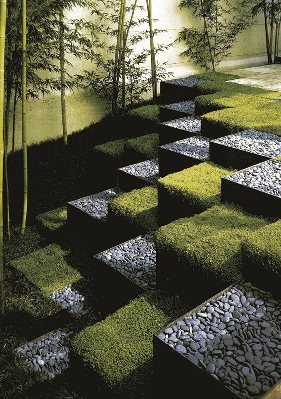 Modern Stepped Garden. Terracing | Inspired-DIY ...