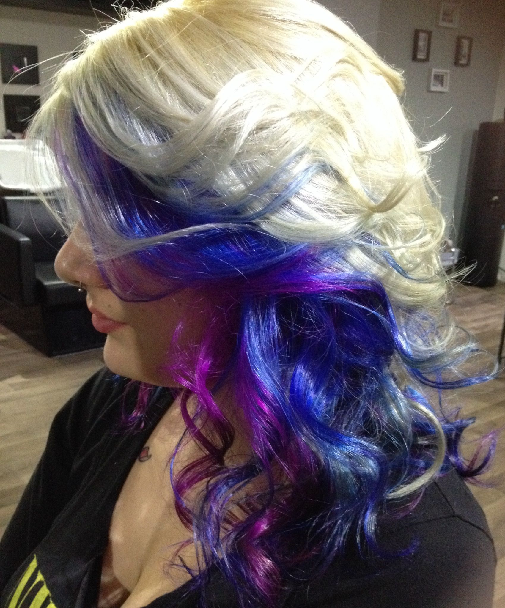 Crazy hair color ... Creation Pur Glam