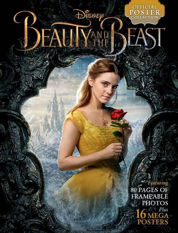 Disney Beauty And The Beast Official Poster Collection With