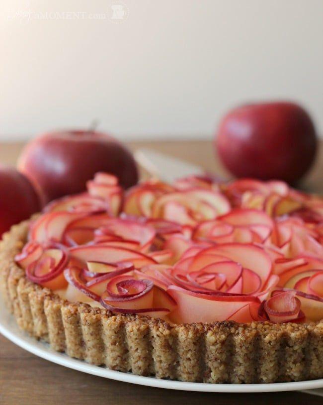 Apple Walnut Tart With Maple Custard Recipe Dessert Recipes
