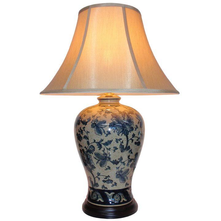 Blue Ceramic Table Lamp Table Lamps Ceramic Table