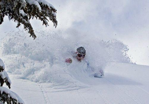 Deep Powder Skiing Google Search Powder Skiing Pikes Peak Colorado Skiing