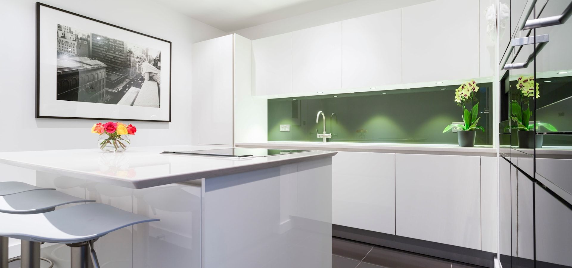 Kitchen Extensions By LWK Kitchens Homify Handleless