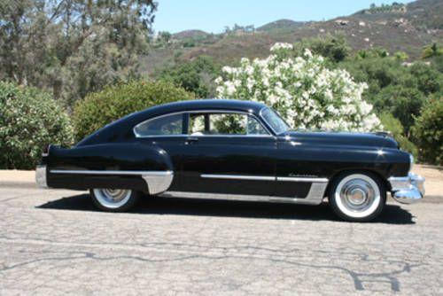1950 Cadillac Fastback Coupe 1949 Cadillac Fastback