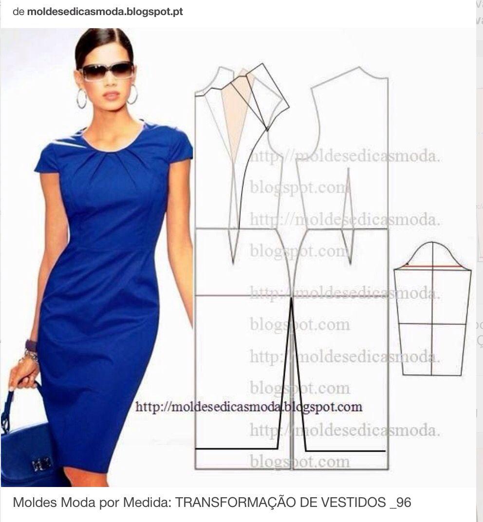 Fresco! | Выкройки Одежды | Pinterest | Costura, Patrones y Vestiditos