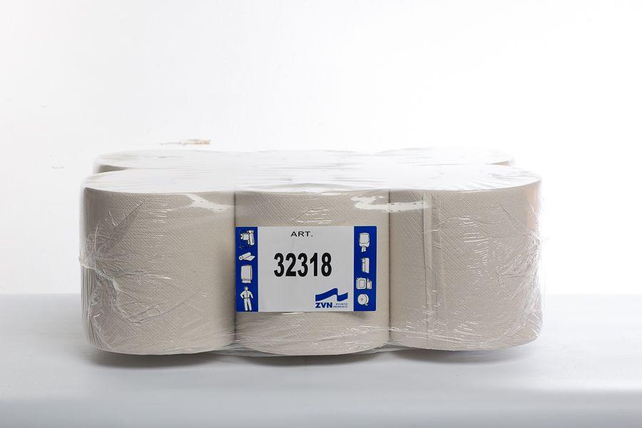 Handtuchrolle 2-lagig Innenabrollung, 450 Abrisse   ZVN Hygiene + Kaffee GmbH- Lieferant für Hygiene- und Kaffee Produkte