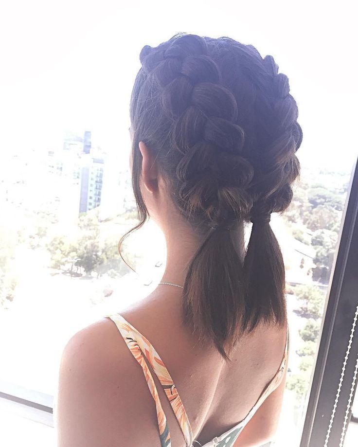 20 Best Prom Hairstyles For Short Hair   Served Pretty   medium hair ...