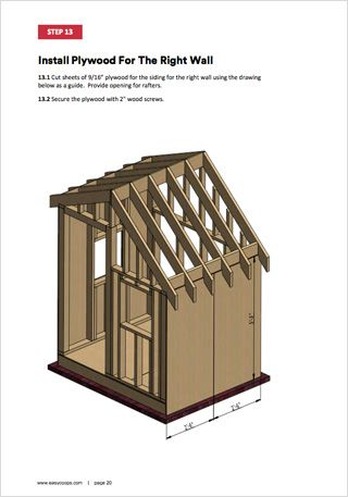 15 DIY Chicken Coop Plans by Easy Coops™ | Chickens ...