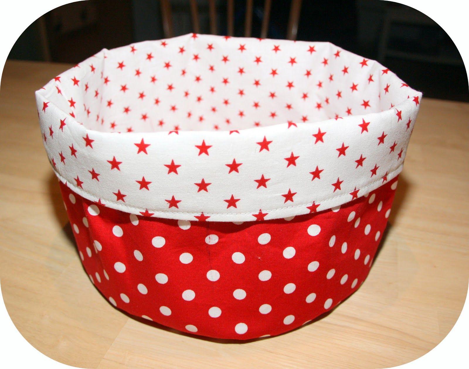 brotkorb rot sternchen diy tutorial selbstgemacht n hen anleitung n hen pinterest. Black Bedroom Furniture Sets. Home Design Ideas
