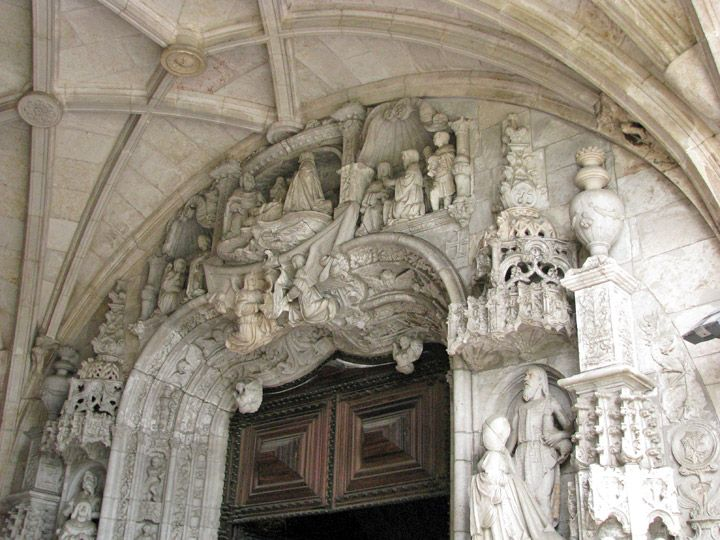 marble statue Queen of Spain  | The end result of the construction of this Late Gothic hall church is ...