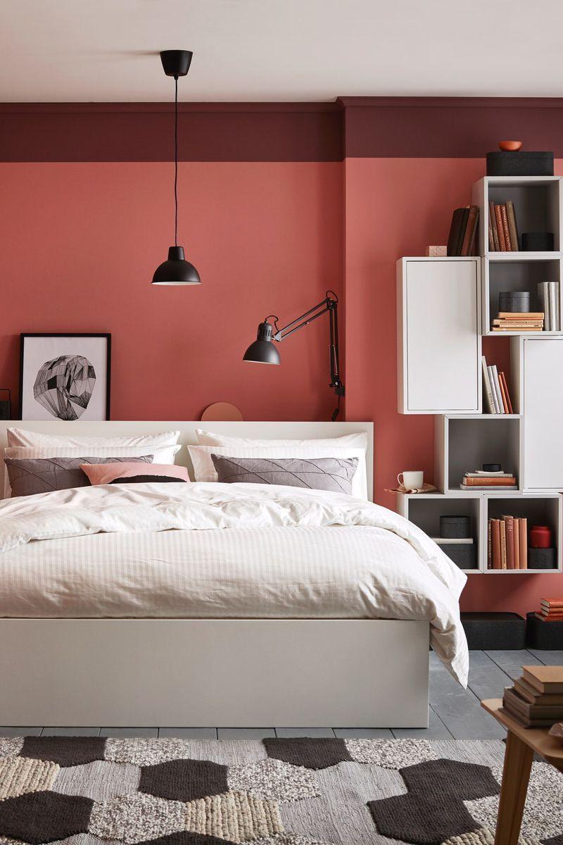 Malm Bettgestell Hoch Weiss Ikea Deutschland In 2020 Ikea Malm Bett Bettgestell Bett Mobel