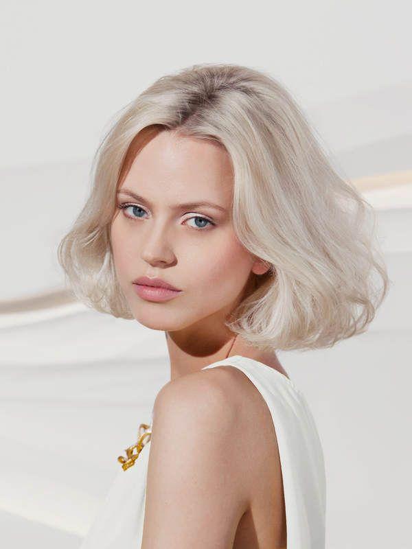 Dauerwelle haare adelajac: blonde Frisuren Frauen