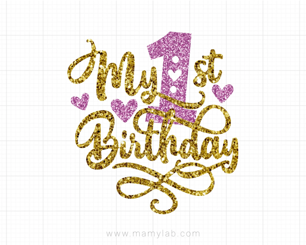 Download Get Free First Birthday Svg Gif Free SVG files ...