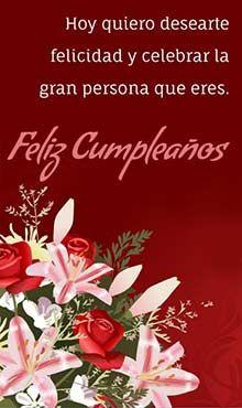 Tarjeta Virtual De Cumpleaños Para Whatsapp Postales De Feliz Cumpleaños Fraces De Feliz Cumpleaños Imágenes De Feliz Día