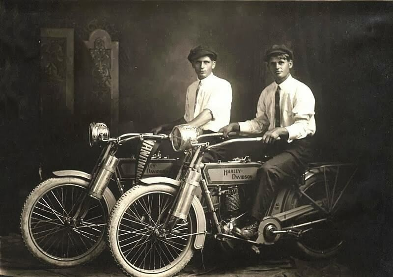 William Harley And Arthur Davidson: 1914: William Harley And Arthur Davidson