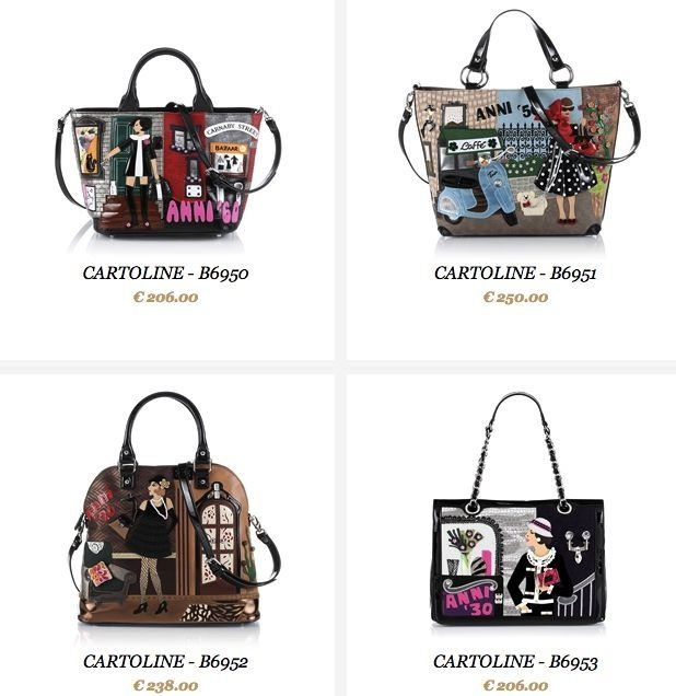 Photo of collection-bags-braccialini-2013-postcards