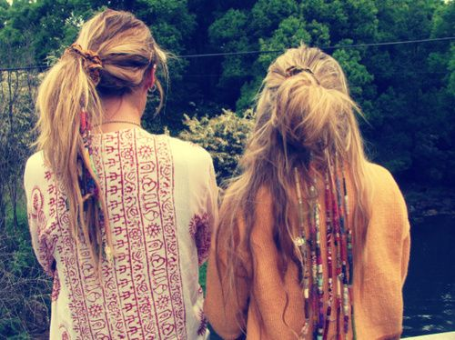 Hair Wraps Beads Hippie Hair Hair Wraps Hair Styles
