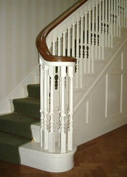 Best Balusters For Cut And Bracket Staircase Gingerbread 400 x 300