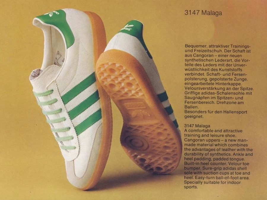 Adidas Malaga and an explanation from Adidas about Cangoran