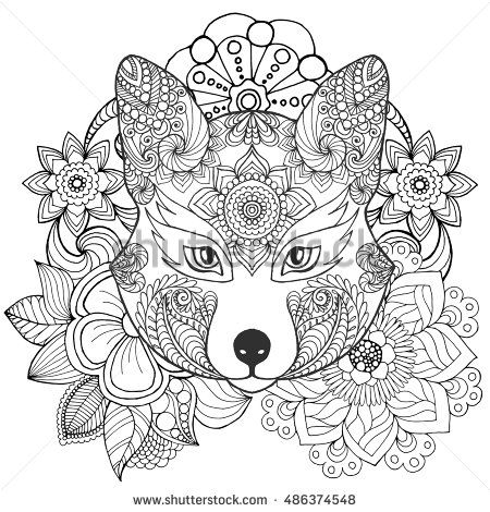 indian designs coloring pages - photo#8