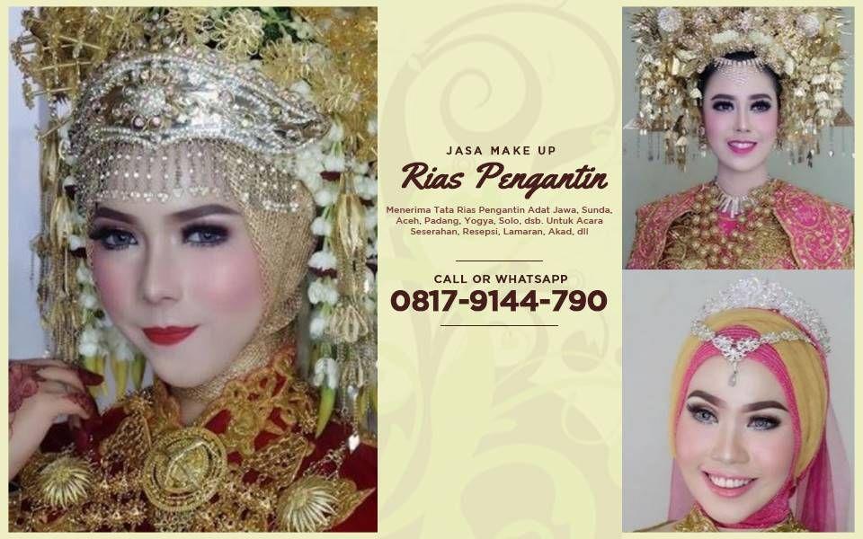Jasa Make Up Pengantin Jakarta Rias Pernikahan Adat Sunda Rias Pengantin Adat Jawa Terbaru Make Up Pe Wedding Costumes Indonesian Wedding Medium Hair Styles