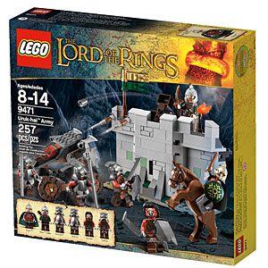 ThinkGeek :: LEGO® Lord of the Rings™ Uruk-hai™ Army