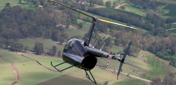 Hunter Valley Helicopter flights - the best way to get to Saddler's Creek!