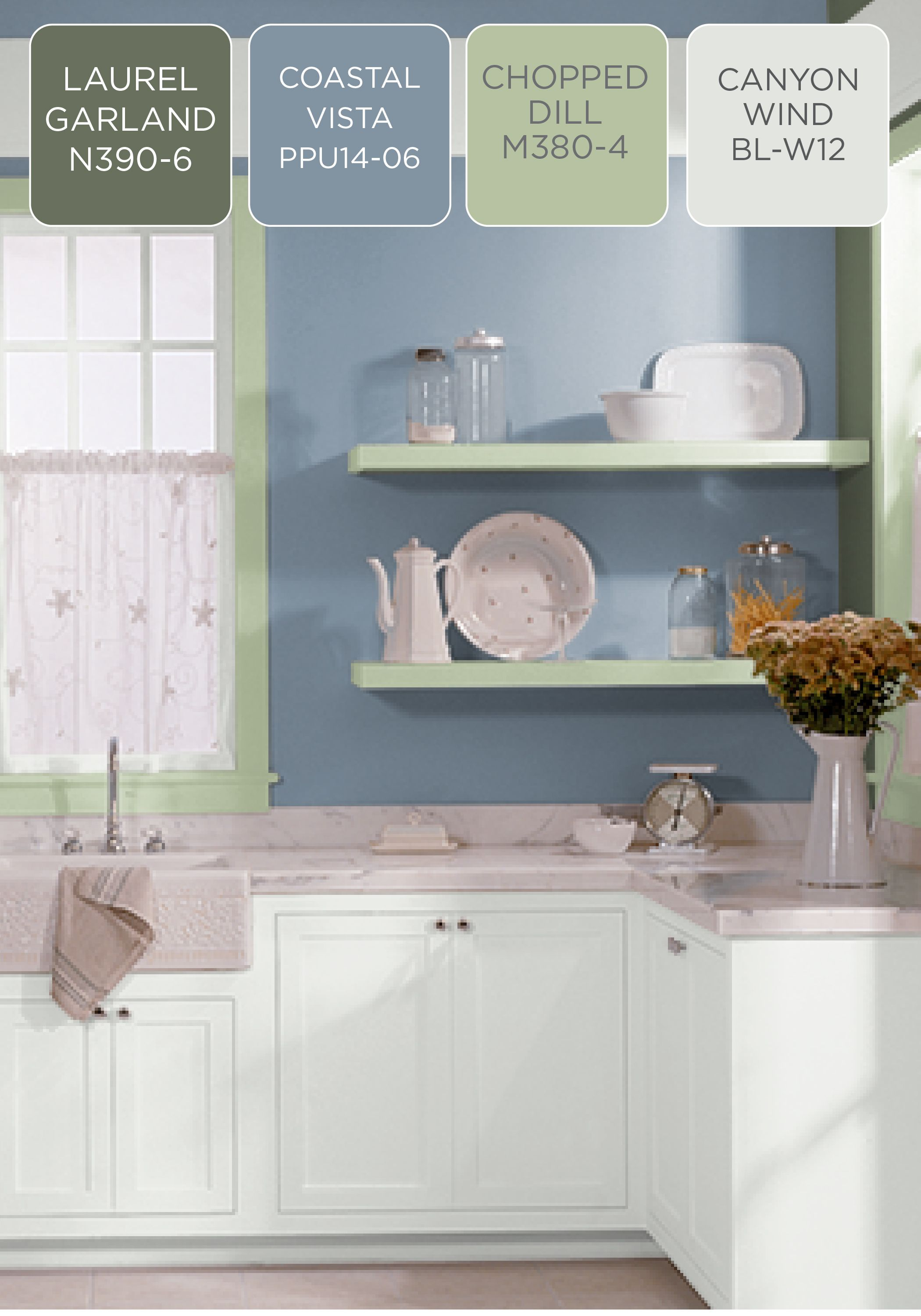 Whether you're looking to make your kitchen more calming