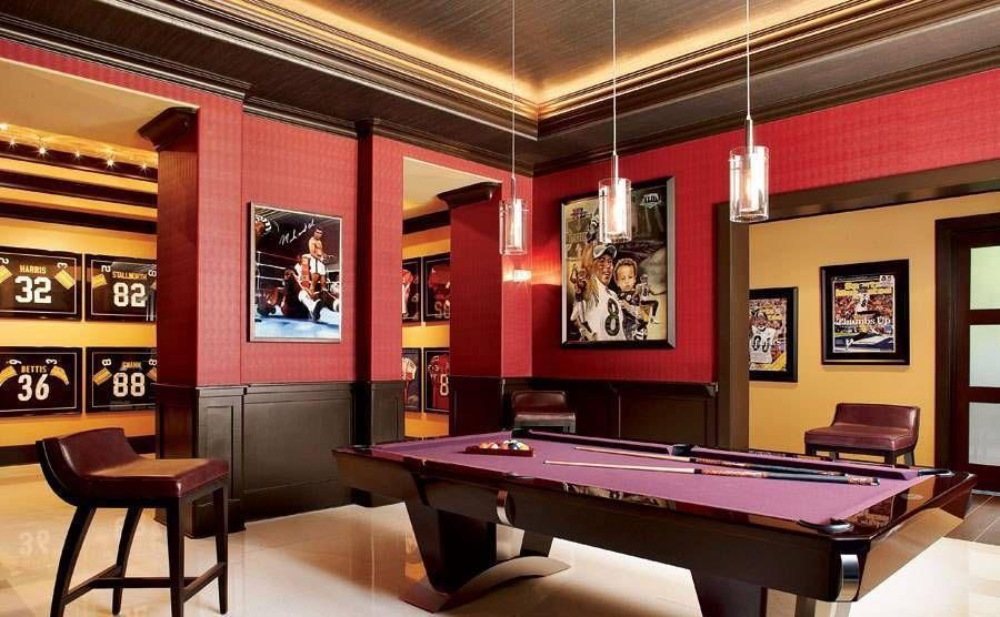 home design and decor home billiard room design cool home billiard room design with