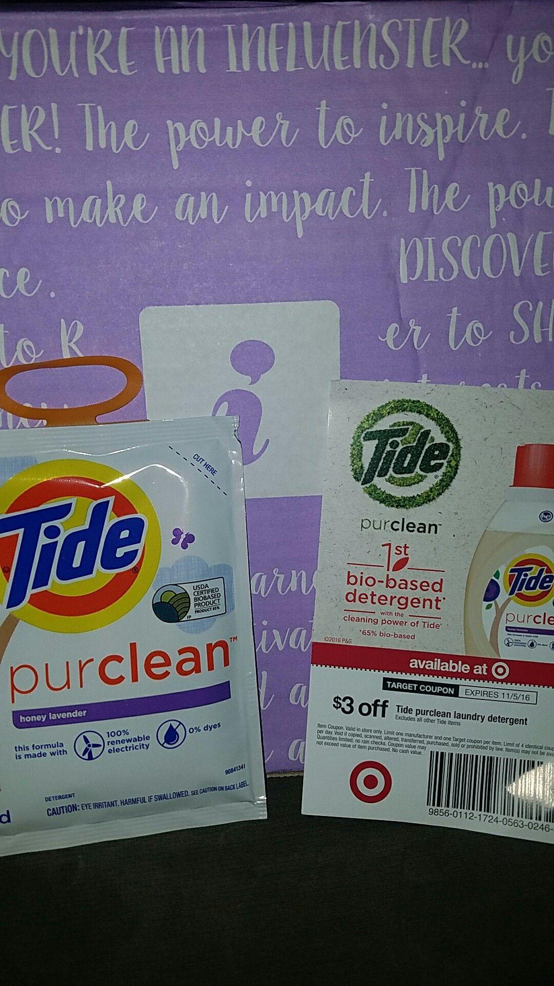 TidePureCleanAtTarget Laundry detergent, Laundry, Box