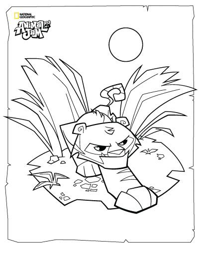 The Daily Explorer Animal Jam Coloring Pages Rabbit Colors