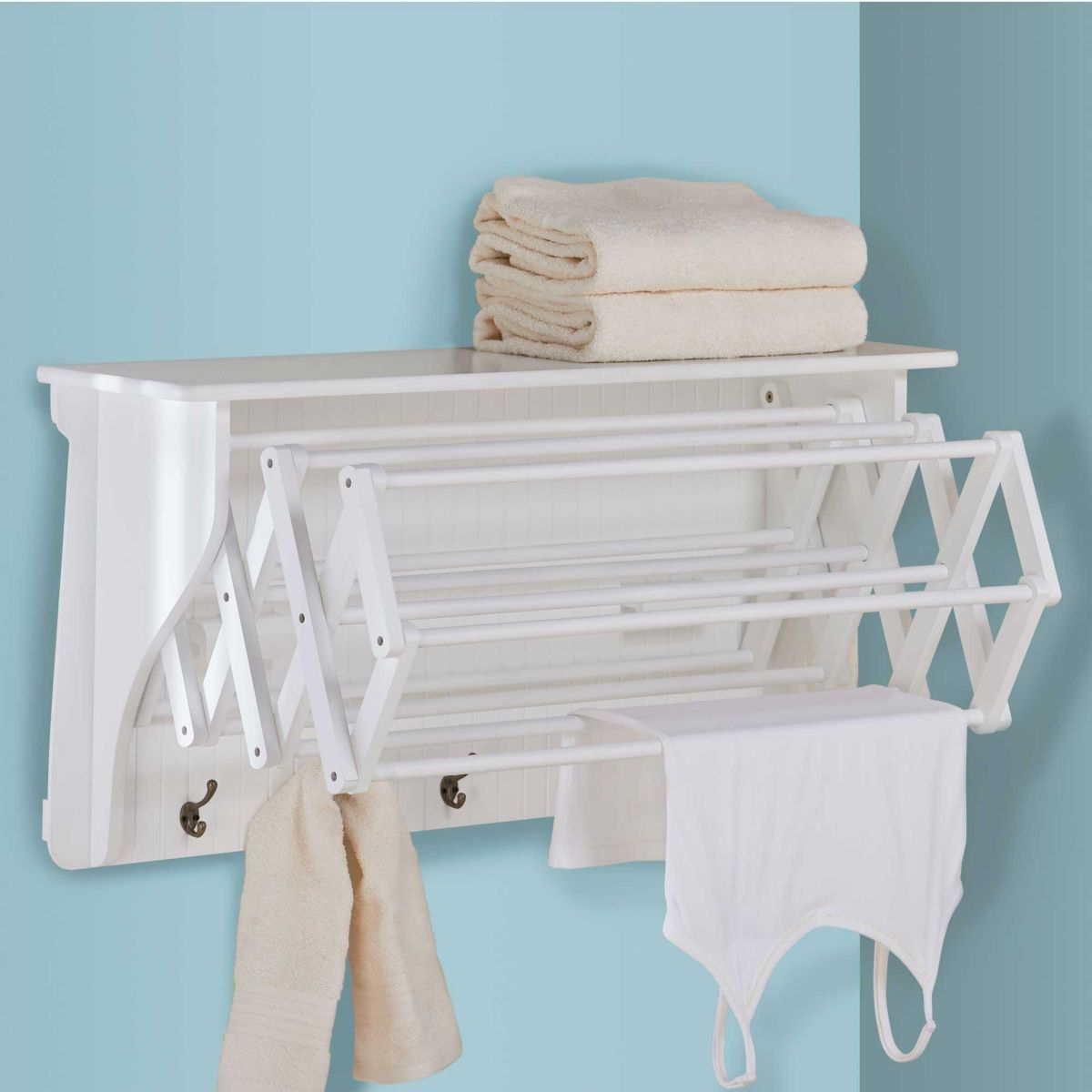 Accordion drying rack laundry rooms laundry and room