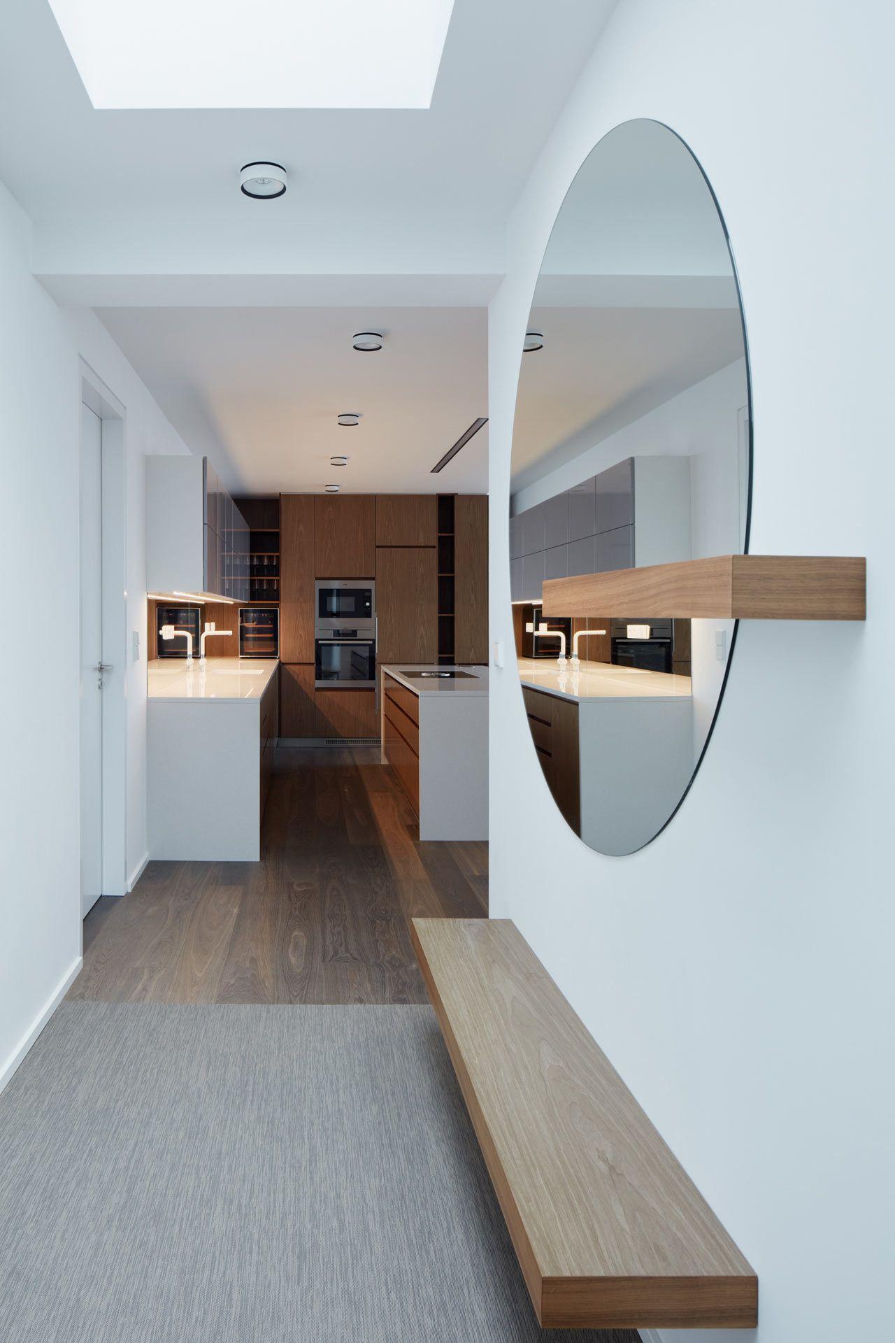 Penthouse F6.1 in Prague by Jana Hamrova of Objectum